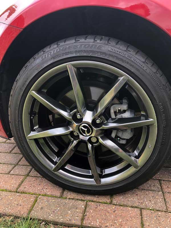 alloy wheel repair Ollerton