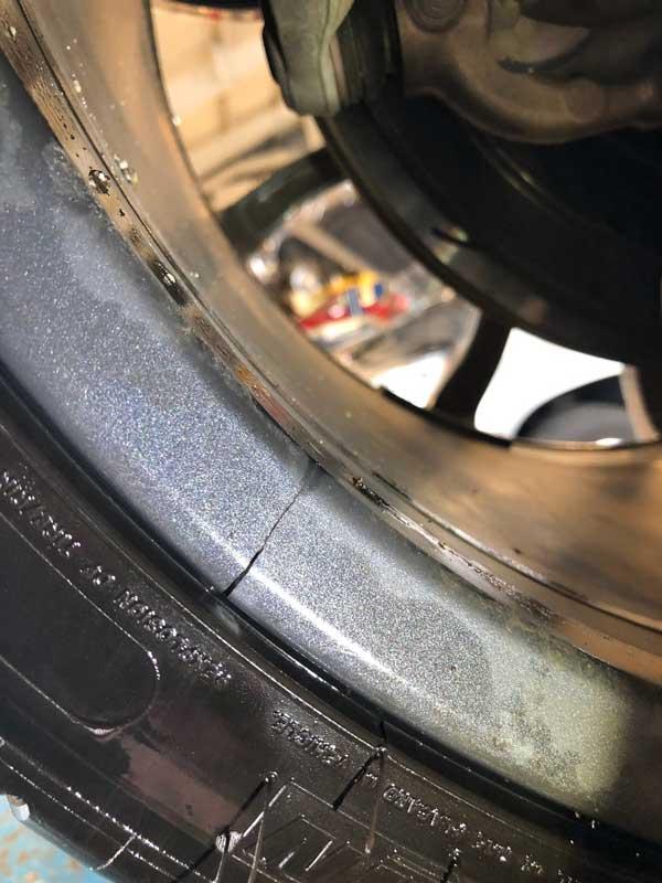 cracked alloy wheel repair Bulwell